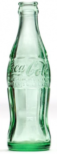 The Coca Cola Bottle Design circa 1915